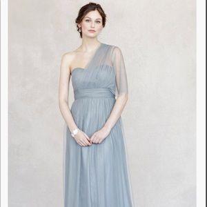 Jenny Yoo Annabelle Dress in Mayan Blue
